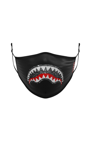 Sprayground Trinity Shark polyester mask black