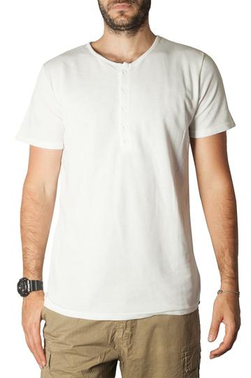 Bigbong Henley t-shirt white