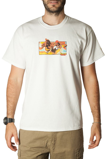 Huf t-shirt Dhalsim white