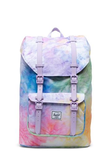 Herschel Supply Co. Little America mid volume backpack pastel tie dye