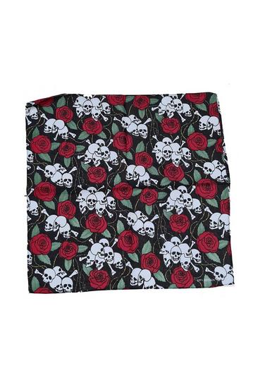 Bandana skull and roses