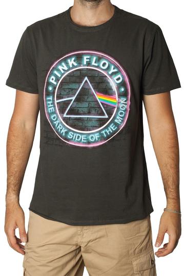 Amplified Pink Floyd Neon dark side charcoal