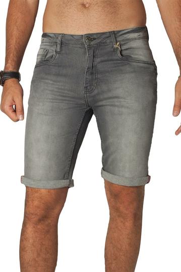 Losan denim shorts grey