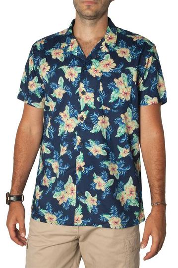 Losan poplin shirt floral