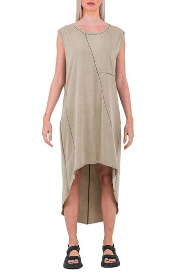 Noah Daily cotton jersey dress sand