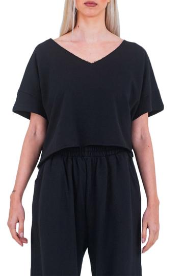 Noah Damar/n asymmetrical top black