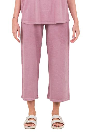 Noah Middle jersey culotte dusty pink