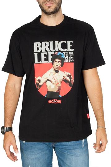 Sprayground Bruce Lee fight t-shirt black