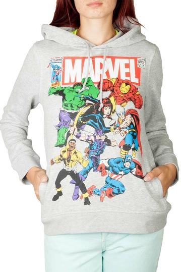 Marvel Team-up hoodie heather grey
