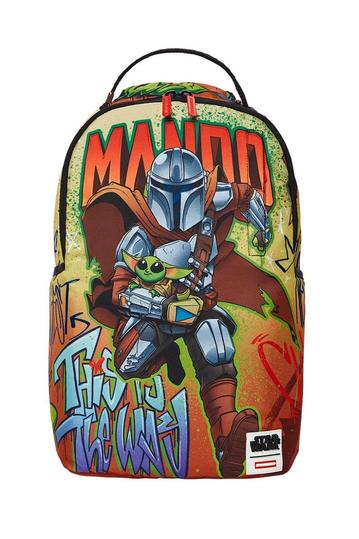 Sprayground Star Wars Mando on the run backpack (DLXR)