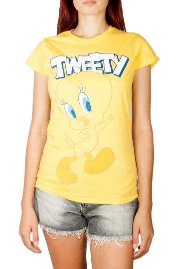 Looney Tunes Tweety t-shirt yellow