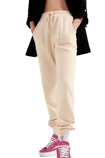 Q2 φόρμα παντελόνι μπεζ