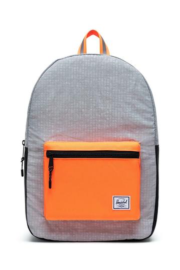 Herschel Supply Co. Settlement backpack sharkskin enzyme ripstop/black enzyme ripstop/shocking orange