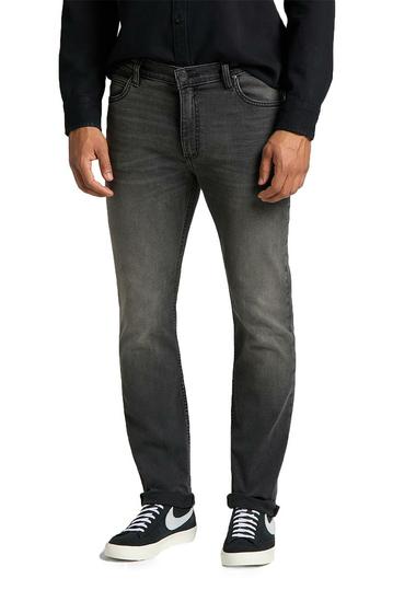 Lee Rider slim jeans - moto worn in