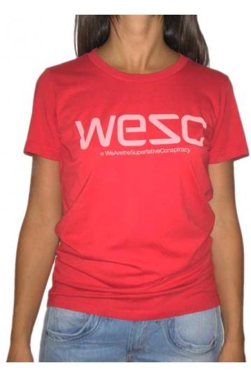 Wesc women's t-shirt logo soft chili pepper