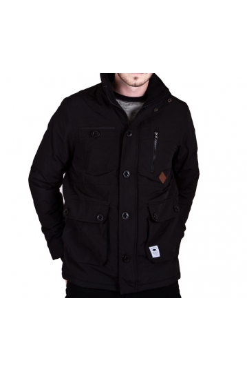 Bellfield men's windcheater jacket in black