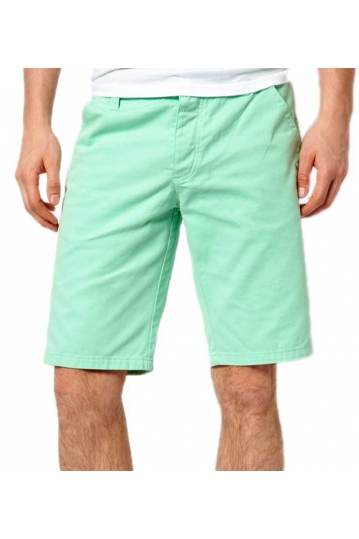 Bellfield men's chino shorts in light green