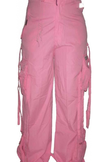 Women's octopus trousers in light pink