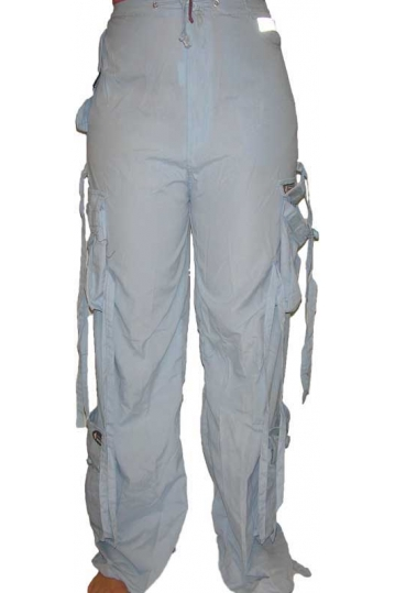 Women's octopus trousers in light blue