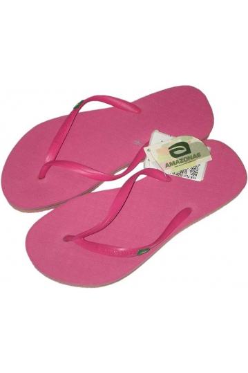 Amazonas Fun Flag women's flip flops in pink