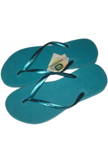 Amazonas Fun women's flip flops in turquoise