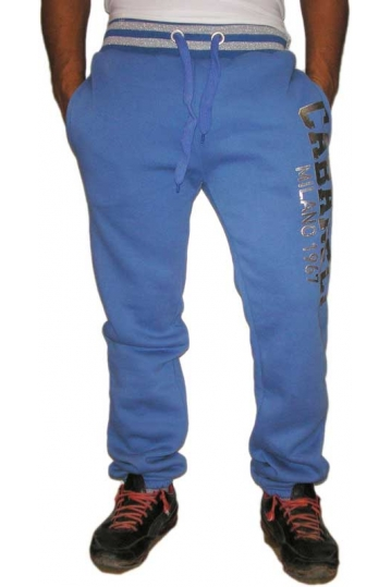 Cabaneli sweatpant light blue - silver