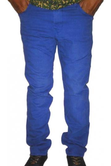 Wesc men's Eddy denim in bright blue