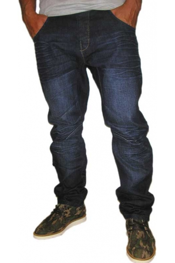 Humor Zuniga men's jeans in dark blue