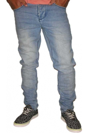 Humor men's faded jeans Dukky