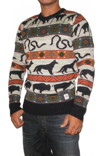 Bellfield men's sweater Sandor multi