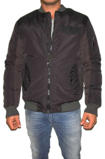 Bellfield men's flight jacket System black