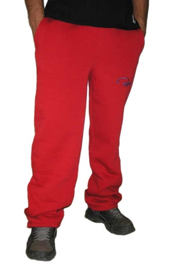 Redrum men's sweatpants in red