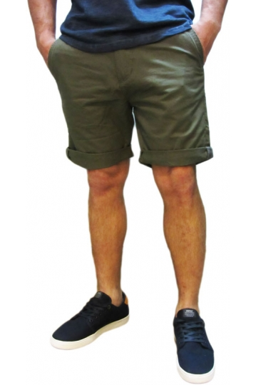 Bellfield men's chino shorts Hemmingway in khaki
