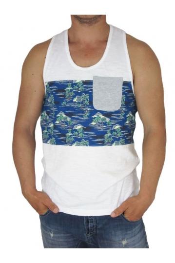 Bellfield ανδρικό αμάνικο μπλουζάκι Andrew με τσεπάκι