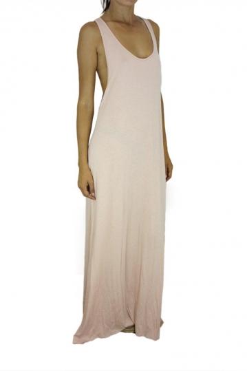 Tag women's maxi racerback dress Mylene in pink