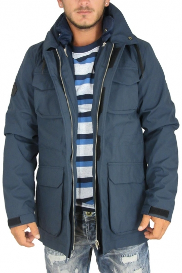 Bellfield men's 2 in 1 parka jacket Gorin navy