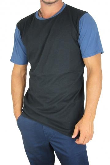 Globe men's longline t-shirt Zissou black