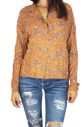 Mismash women's shirt Talma dark orange