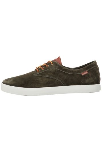 Huf men's low top sneaker Sutter olive