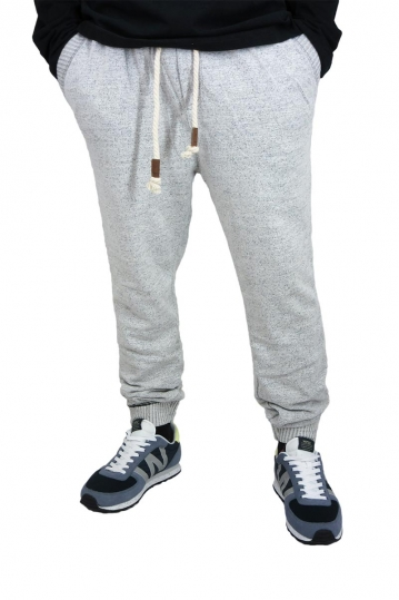 Men's sweatpants in beige marl