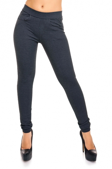 Women's jeggings dark grey