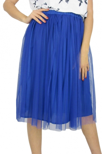 Migle + me tulle skirt in blue