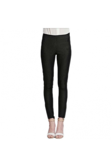 Women's black skinny treggings