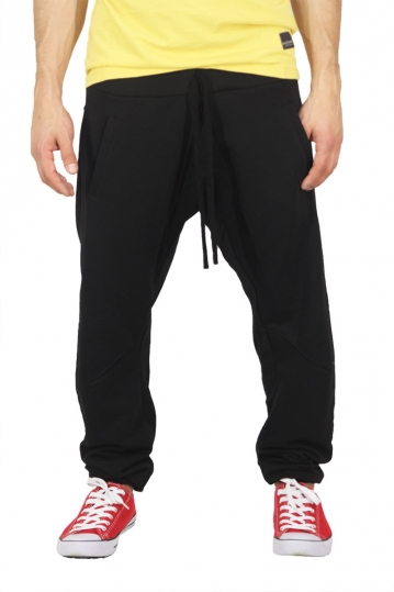 Men's sweatpants in black