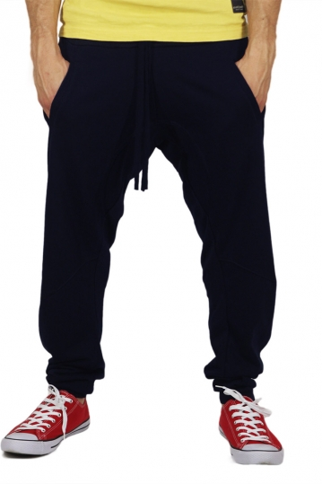 Men's sweatpants in dark blue