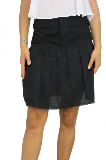 Insight mini skirt black