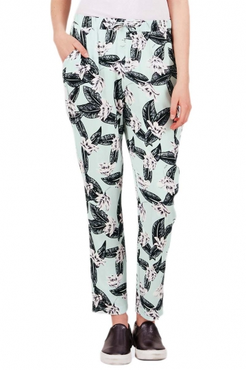 Minimum women's harem trousers Ninel surf mint