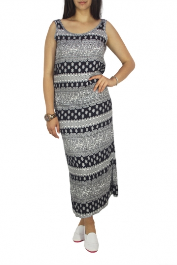 Dog's Dinner open back maxi dress Dream navy