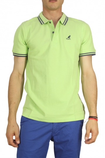 Kangol polo t-shirt Joshua spearmint