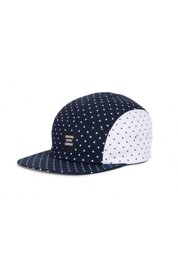 Herschel Supply Co. Glendale Cap navy/white white/navy polka dot